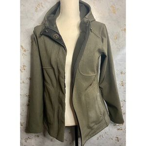 Lucy Brand Thick Lined Gray Jacket Medium